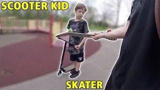 Video How Skaters Treat Scooter Kids... MP3, 3GP, MP4, WEBM, AVI, FLV Januari 2019