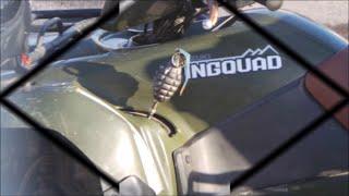 9. 2008 Suzuki 450 KingQuad