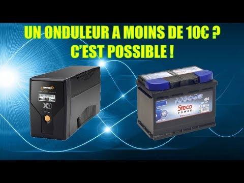 MON ONDULEUR A MOINS DE 10€