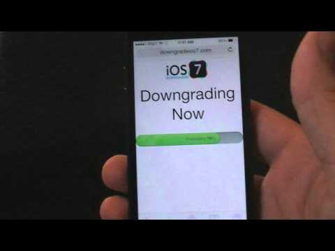 ios 5 - Downgrade iOS 7 to iOS 6 or iOS 5 - http://downgradeios7.com You might need to downgrade from iOS 7 for many reasons, maybe you dont like ios 7.0.3 or ios 7....