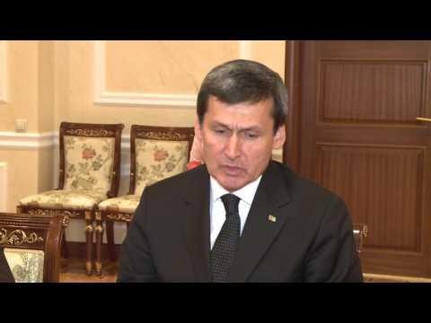 Președintele țării a avut o întrevedere cu o delegație din Republica Turkmenistan