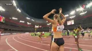 Dafne Schippers wins 200m women's final - World Championships
