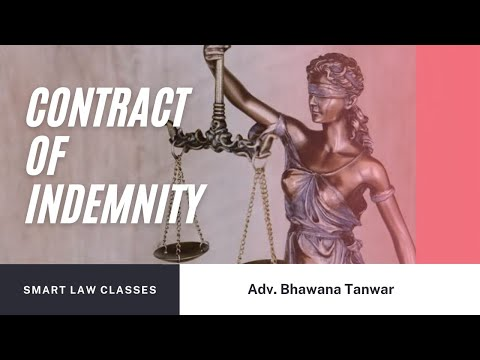 Contract Of Indemnity Explained By Bhawana Mam For LLB/CA/CS/CMA