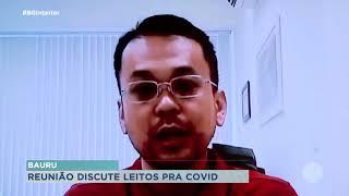 Reunião discute sobre leitos de UTI para Covid-19 em  Bauru