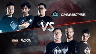 [Vainglory World Invitational] Divine brothers vs Fusion   Caster : Junky, tin công nghệ, công nghệ mới