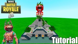 "Minecraft Tutorial: How To Make Tomato Temple ""Fortnite"""