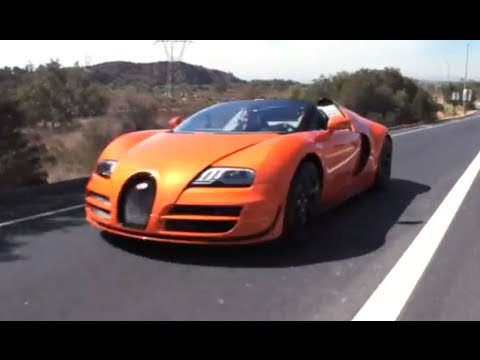 jay lenos garage jay leno f hrt f r uns den bugatti veyron grand sport vitesse bugatti. Black Bedroom Furniture Sets. Home Design Ideas