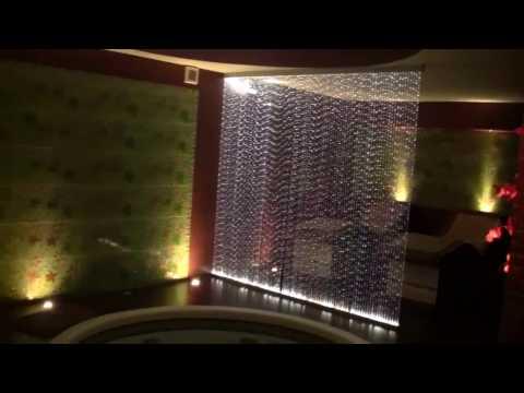 Zestaw Kurtyna Światłowodowa, dekoracje do SPA, basenu, sauny, realizacje wnętrz
