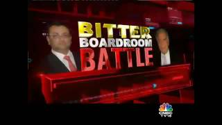 MEGA CNBC-TV18 EXCLUSIVE: TATA SONS VS MISTRY. Tatas Hit Back At Mistry