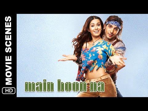 Ram Toh Rambo Nikla | Main Hoon Na Movie Scene | Shah Rukh Khan, Zayed Khan, Amrita Rao