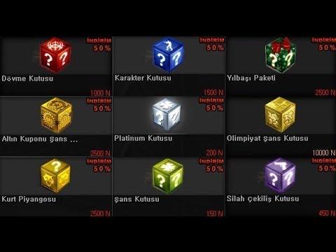 Wolfteam Türkiye 300 adet kutu açımı (Forestatek)