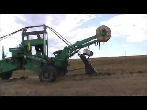 Spiderplow Black Spring Wind Farm plowing