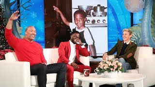 Video Dwayne Johnson Reveals Kevin Hart's Awkward Teen Photo MP3, 3GP, MP4, WEBM, AVI, FLV Maret 2018