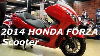 2. 2014 HONDA FORZA 300 Scooter - Consumer Perspective