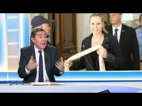 """Le départ de Marion Maréchal-Le Pen est """"une tuile"""" pour le FN"""