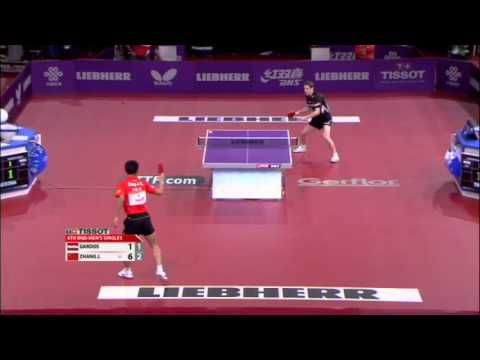 Robert - Review all the highlights from the Zhang Jike vs Robert Gardos Mens Singles Quarter-Finals match at the 2013 World Table Tennis Championships in Paris, Franc...
