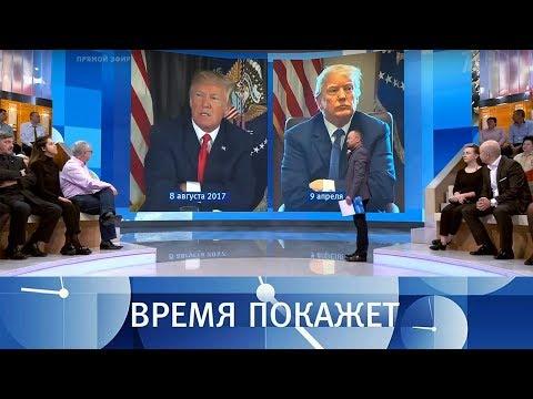 Политика США в трех твитах. Время покажет. Выпуск от 11.04.2018 - DomaVideo.Ru