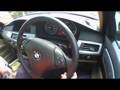 2008 BMW 5 Series 530d Road Test Drive Review. Road Test Drive – The UK Car Reviews.