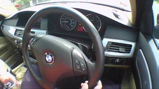 2008 BMW 5 Series 530d Road Test Drive Review.