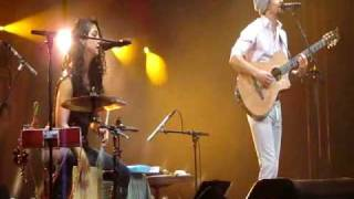Jason Mraz & Mona Tavakoli 'Collapsible Plans' Zermatt