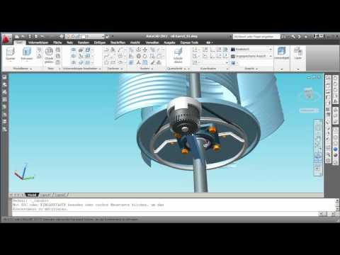 Gwindoline - vertical axis wind turbine
