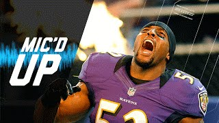 Ray Lewis Last Home Game Mic'd Up vs. Colts (2012 Wild Card Playoffs) | #MicdUpMondays | NFL by NFL