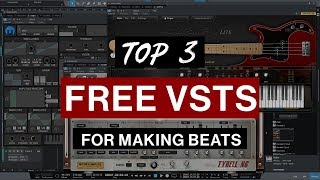 Video My Top 3 FREE VSTs for Making Beats (January 2018) MP3, 3GP, MP4, WEBM, AVI, FLV Mei 2019