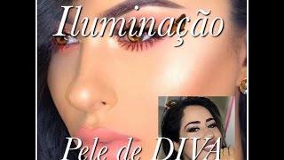 Aprenda a fazer maquiagem iluminada - estilo atriz de Hollywod