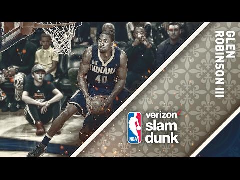 Glenn Robinson III Wins the 2017 Verizon Slam Dunk Contest | 02.18.17 (видео)