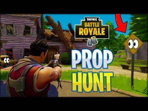 PROP HUNT in Fortnite Battle Royale!