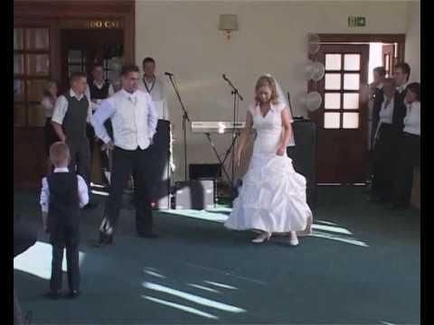 Pierwszy taniec Angeli i Leszka (taniec z niespodzianką )