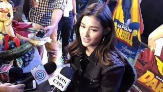 Liza Soberano's media interview at the opening of Toycon 2017