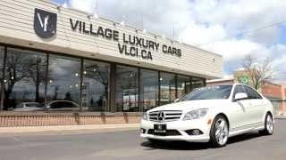 2009 Mercedes-Benz C350 4Matic In Review - Village Luxury Cars Toronto