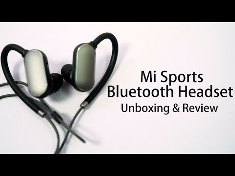 Xiaomi Bluetooth Sport Earbuds Unboxing and Review