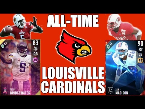 All-Time Louisville Cardinals Team -  Teddy Bridgewater and Sam Madison! - Madden 17 Ultimate Team
