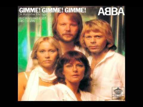 Tekst piosenki ABBA - Dame Dame Dame (Gimme Gimme Gimme) po polsku
