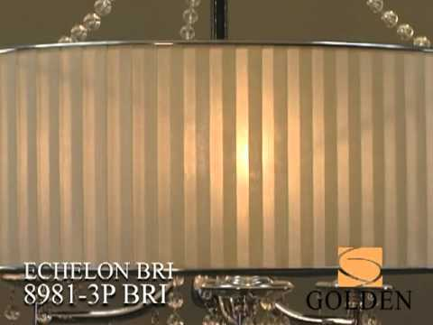 Video for Echelon Chrome Five-Light Chandelier with Bridal Veil Shade