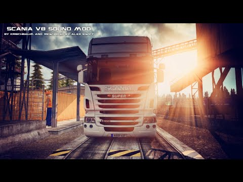 Scania V8 Stock Sound Mod v3.0