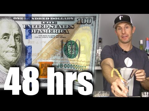 HOW TO BECOME A BARTENDER IN 48 HOURS