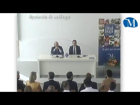 El ministro de Economía se reúne en Diputación con empresarios del sector agroalimentario de Málaga