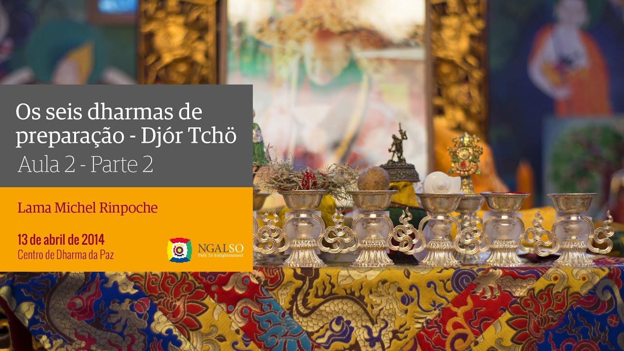 Os seis dharmas de preparação | Aula 2 . Parte 2