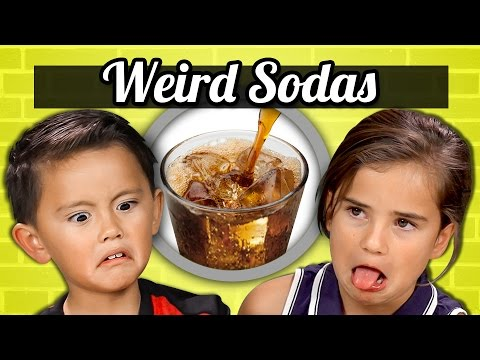 Kids React to Tasting Weird Sodas