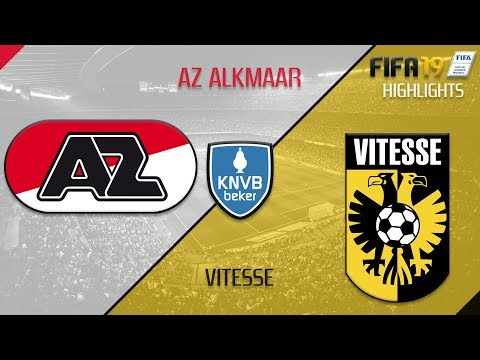 22/01/19 - AZ Alkmaar X Vitesse - SIMULATION FIFA19 HIGHLIGHTS - [CPU Vs CPU]