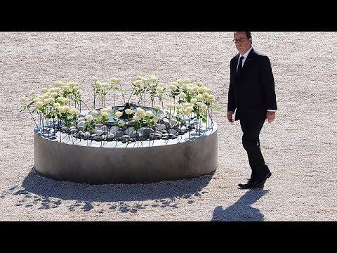 Γαλλία: Σε κλίμα συγκίνησης η τελετή στη μνήμη των θυμάτων στη Νίκαια