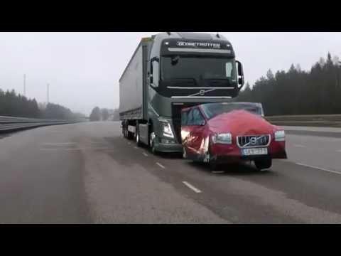 Volvo FH kamion fékteszt