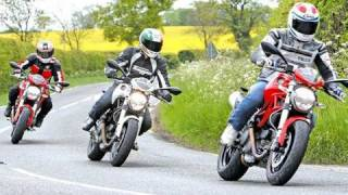 6. Ducati Monster test - 796 v 696 v 1100