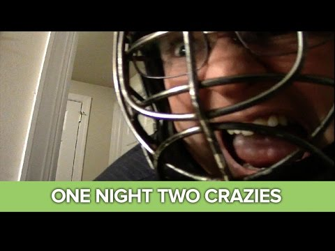 two - One Night Two Crazies is an Xbox 360 indie game in which your 'friend' Chris has you 'test' his 'security system' by looking at a laptop and being murdered when you don't shut the door on him...