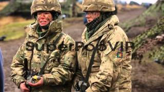 Otterburn United Kingdom  city photos gallery : Territorial Army gunners Louisa Smith and Vicky Shepherd...