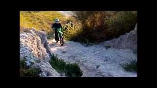 10. Kawasaki KLX 300R First time! [PT]
