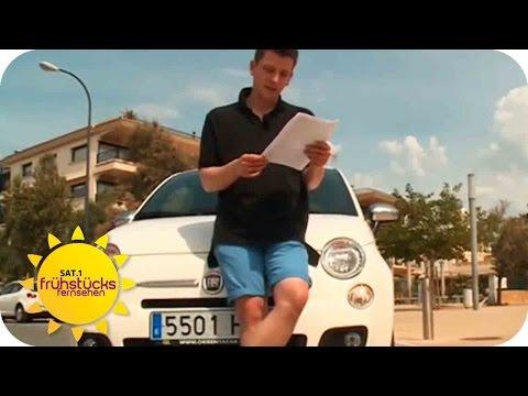 Der große Mietwagen-Test auf Mallorca | SAT.1 Frühstü ...